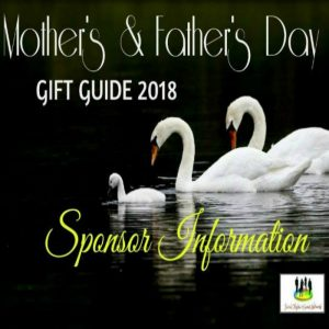 SPONSORS INFO for the 2018 Mother's and Father's Day Gift Guide