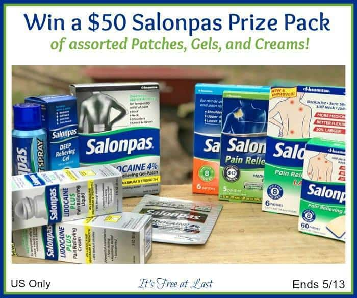 Salonpas Pain Relieving Patches, Gels, and Cream