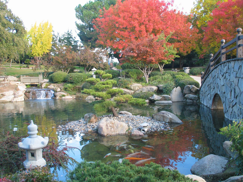 Shinzen Friendship Garden Fresno California