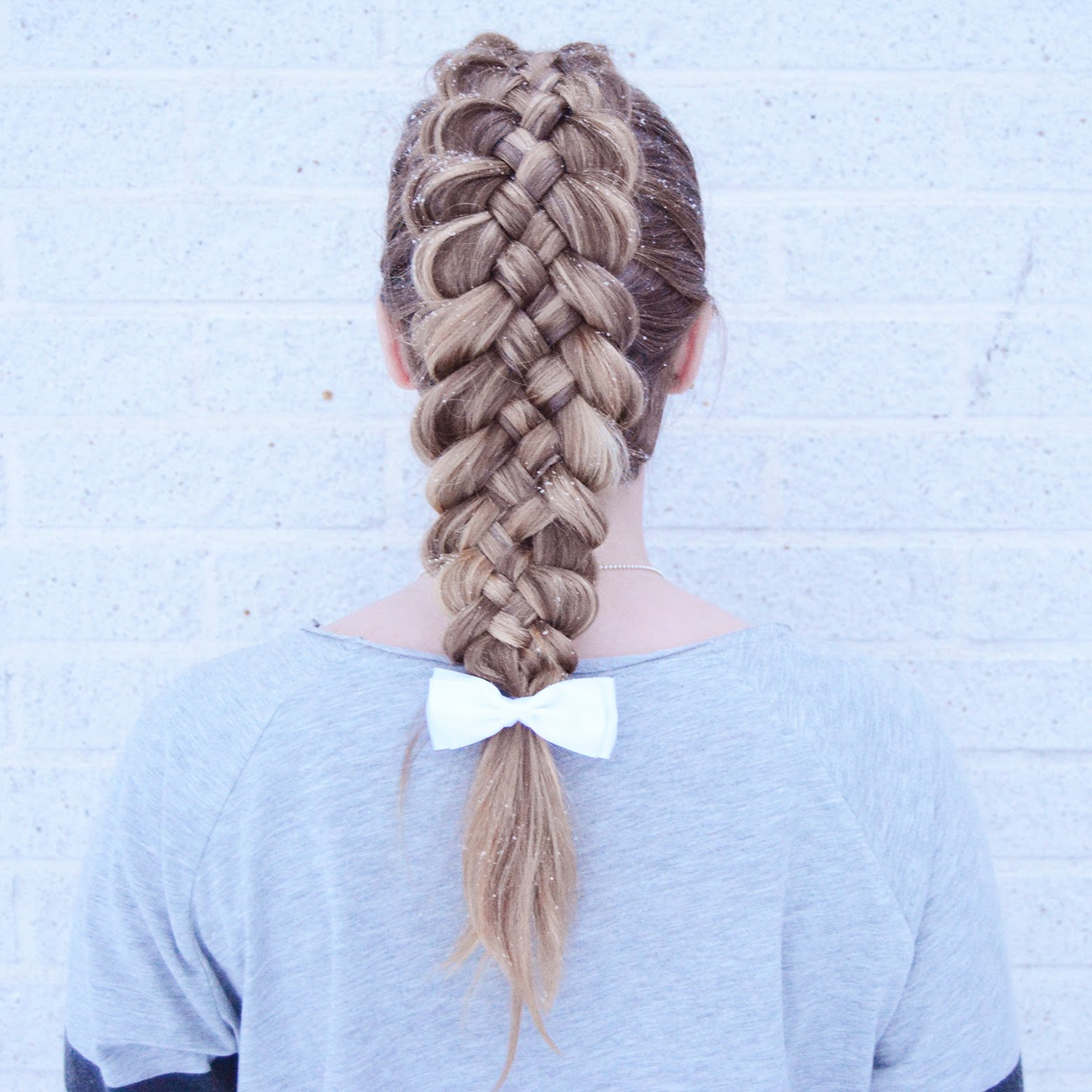 Five Strand Dutch Braid Hairstyle