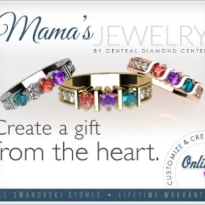 Custom Birthstone Ring for Mothers' Day from Mama's Jewelry