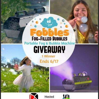Fobbles Portable Fog & Bubble Machine Giveaway