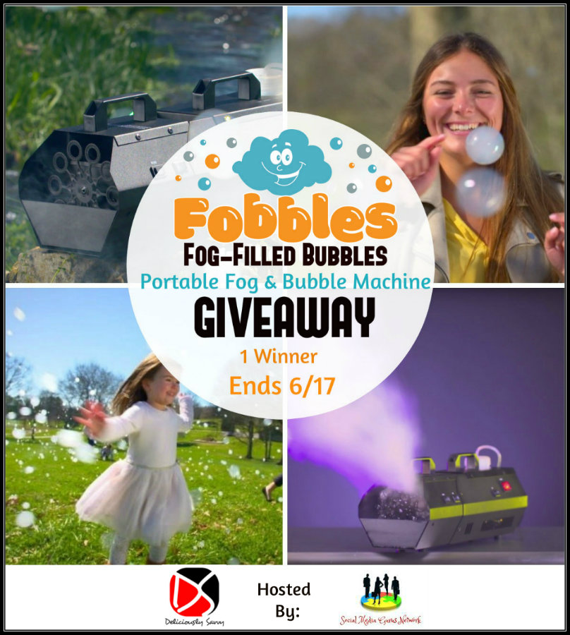 Fobbles Portable Fog & Bubble Machine