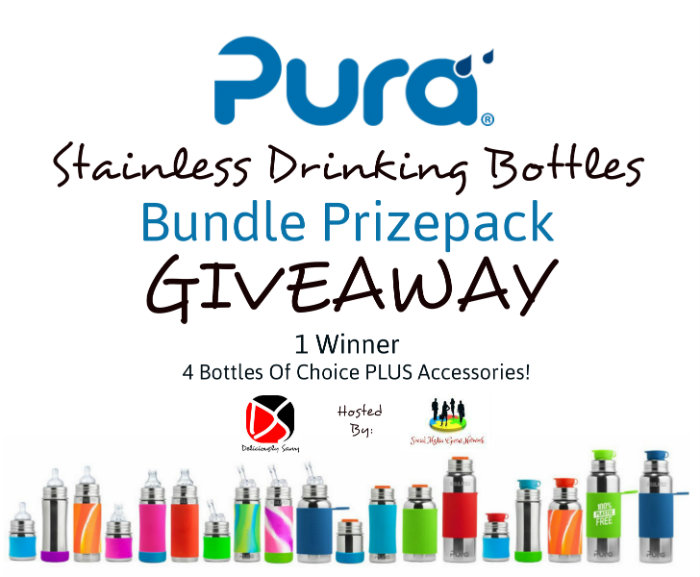 Pura Stainless Drinking Bottles
