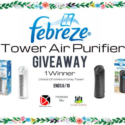 The Febreze® Tower Air Purifier Giveaway