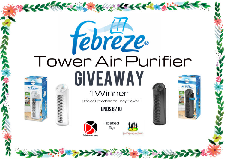 The Febreze Tower Air Purifier