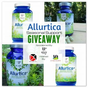 Allurtica Natural Seasonal Support For Allergy Sufferers from Utzy Naturals
