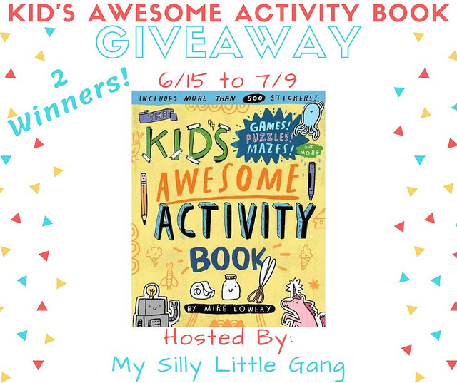 Kid's Awesome Activity Book