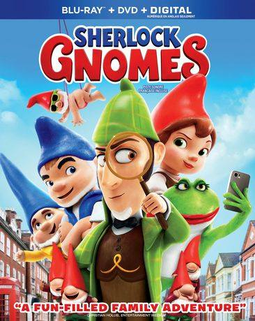 Sherlock Gnomes Animated Movie Prize Pack