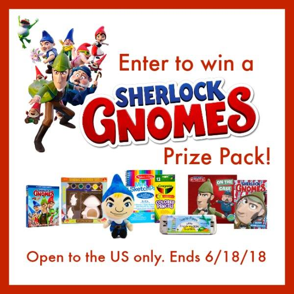 Sherlock Gnomes Animated Movie Prize
