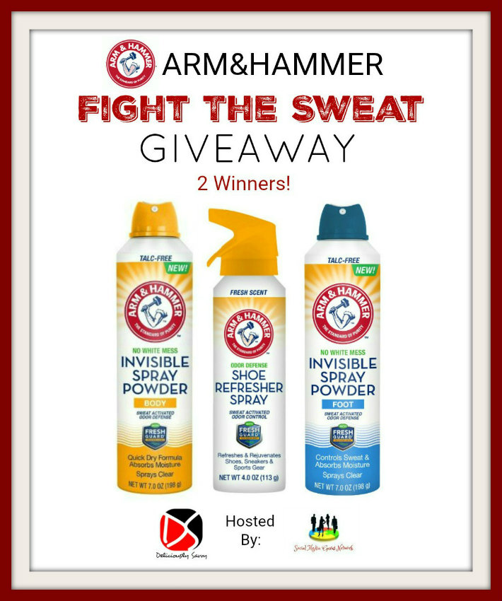 ARM&HAMMER Personal Care Products invisible spray powder