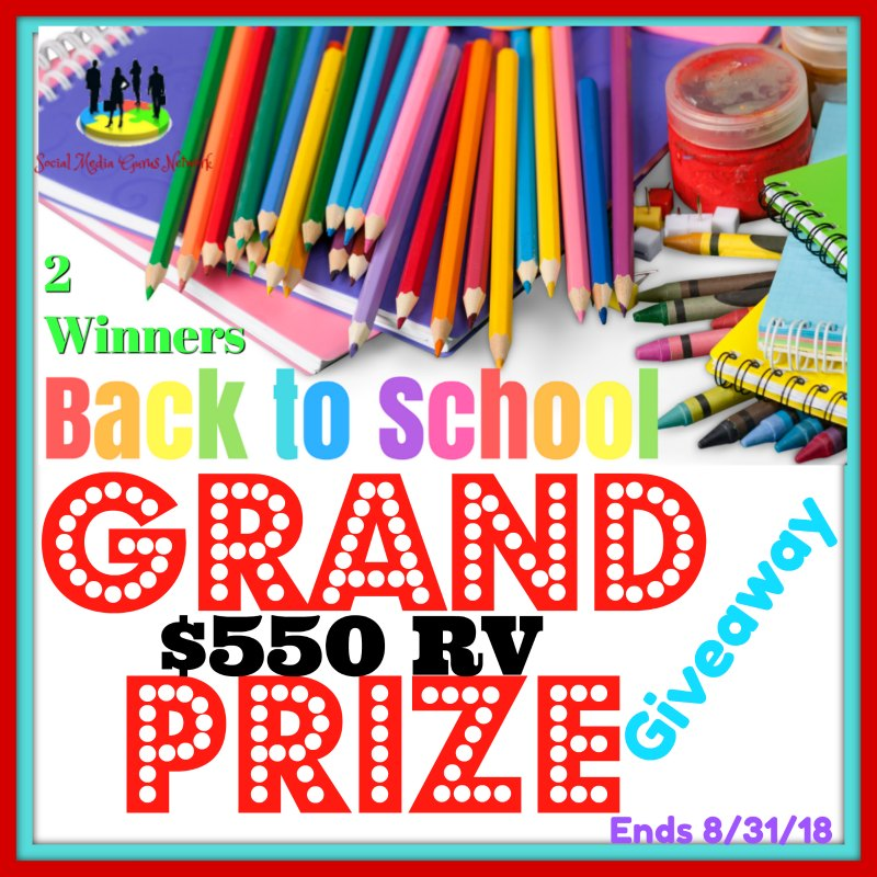 Back to School grand prize