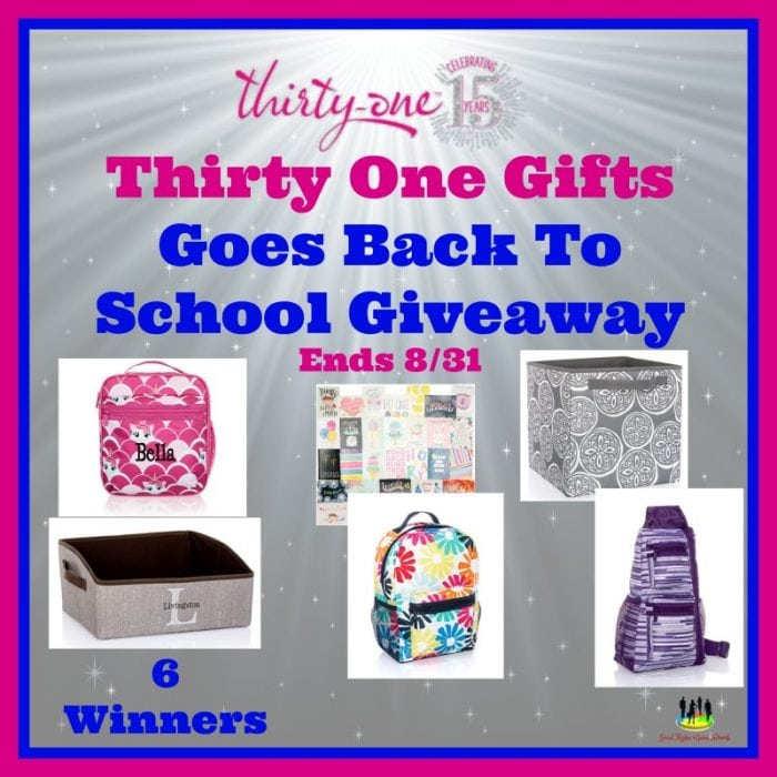 Thirty One Gifts Goes Back To School