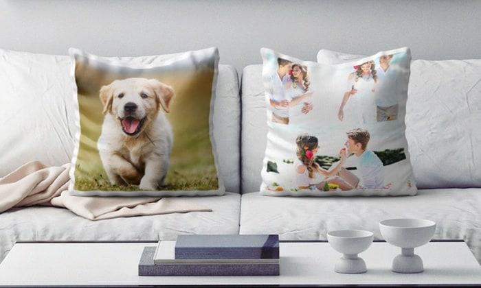 Custom Personalized Photo Pillows