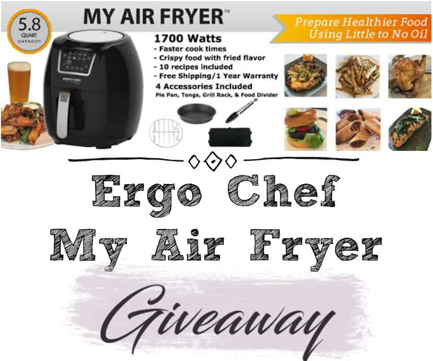 Ergo Chef May Air Fryer