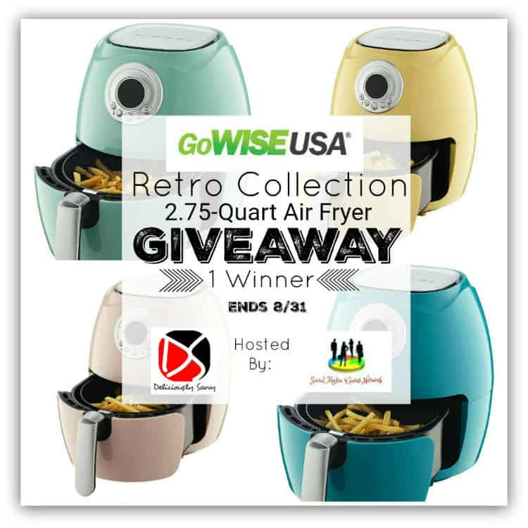 GoWISE USA Retro Collection Air Fryer