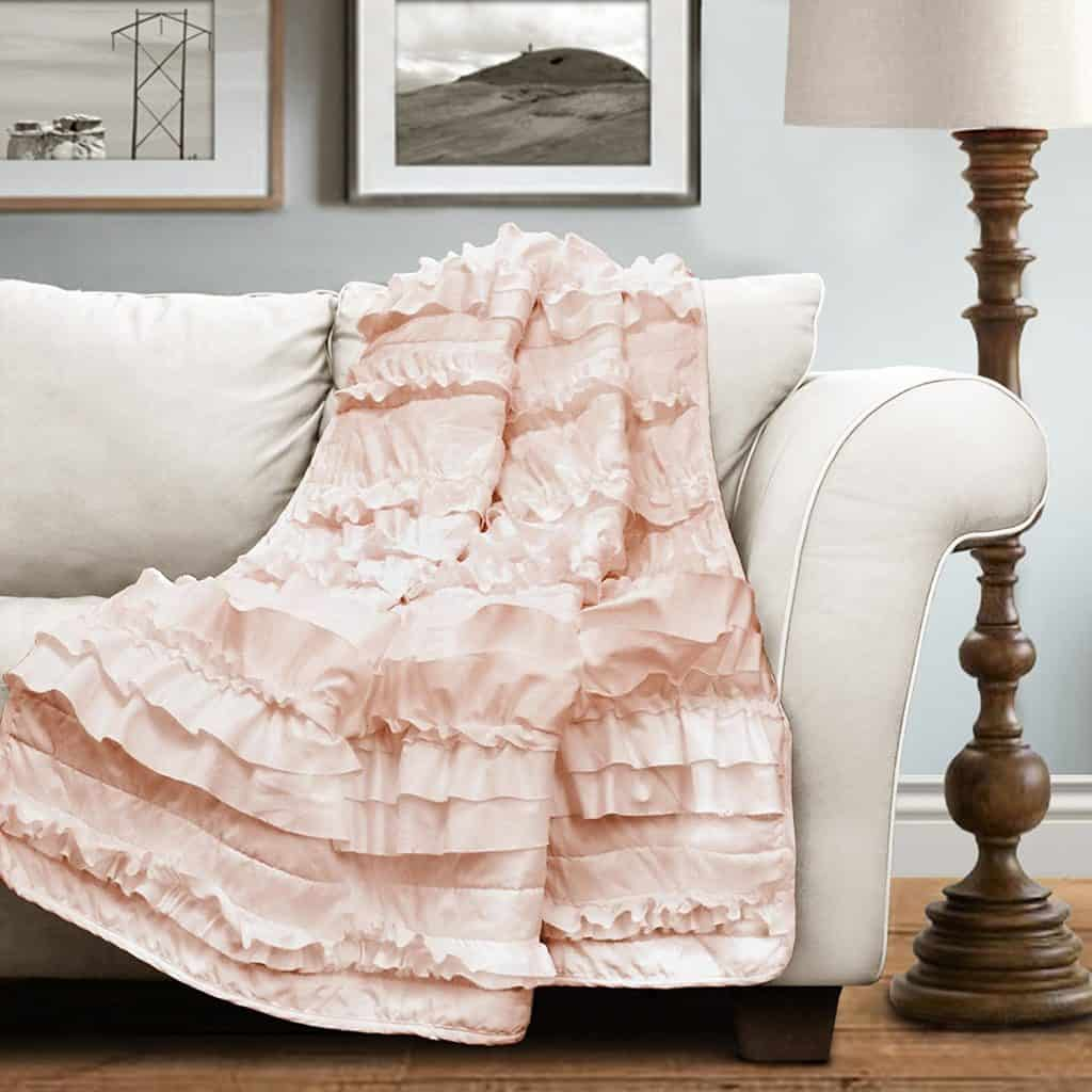Lush Decor 16T000207 Belle Throw, 60