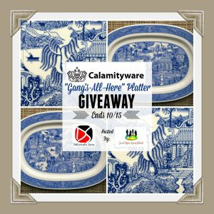 """Calamityware """"Gang's-All-Here"""" Platter"""