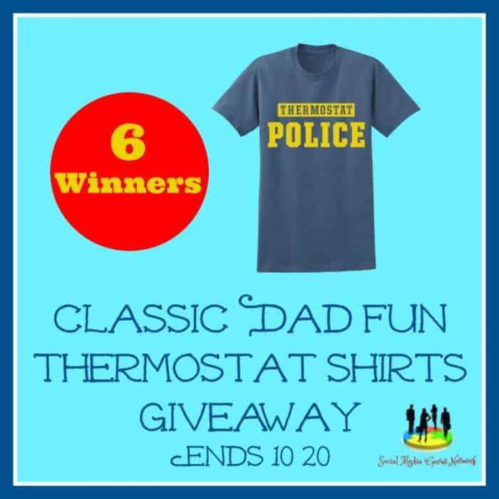 Classic Dad Thermostat Police shirt
