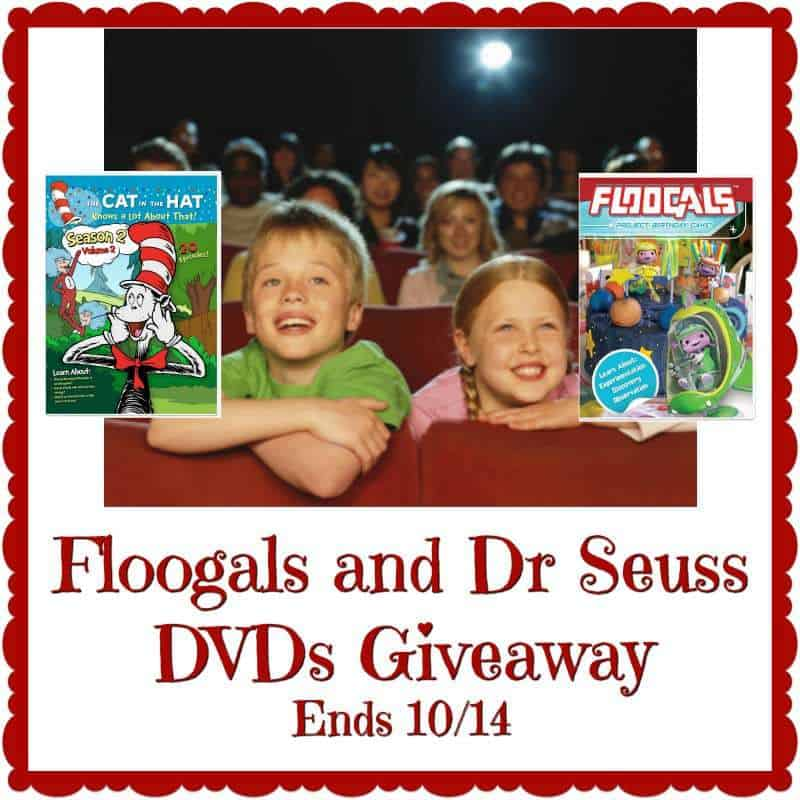 Floogals Project Birthday Cake and Dr Suess The Cat in the Hat movie