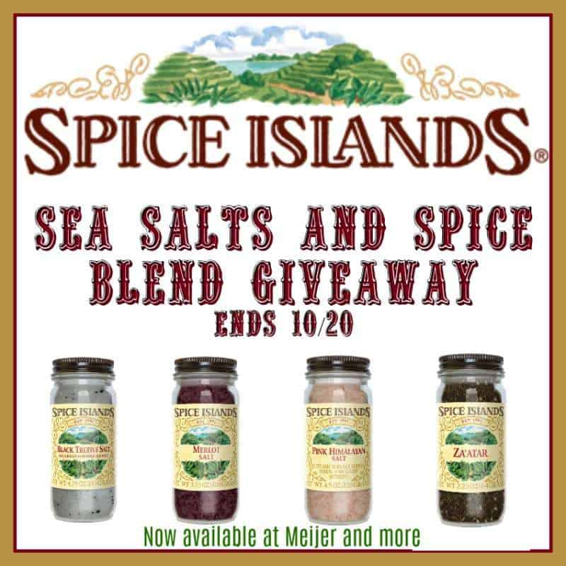 Spice Islands Sea Salts and Spice Blend