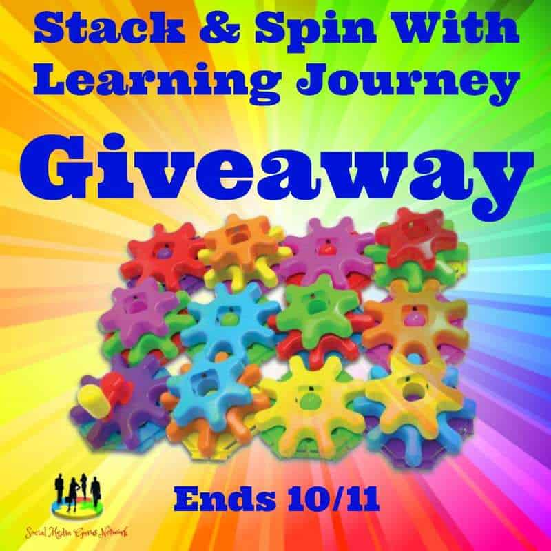 The Learning Journey Techno Kids Stack and Spin Gears Set