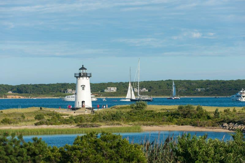 Top Beaches to Visit Martha's Vineyard Massachusetts Lighthouse Beach
