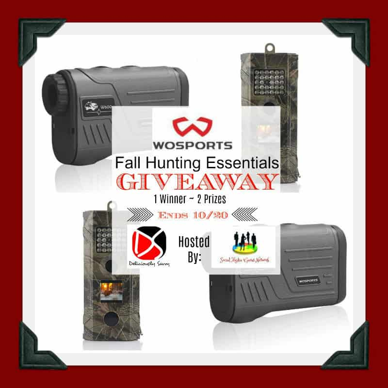 Wosports Wildlife Hunting Camera and A Wosports Laser Rangefinder For Hunting and Golfing