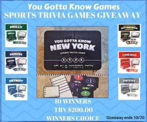 You Gotta Know Games States Sports Trivia Games