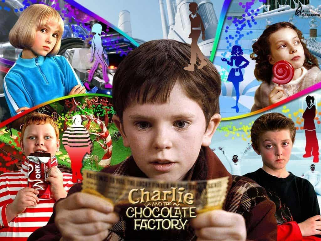 Charlie and the Chocolate Factory 2005 movie on Freeform Nights of Halloween
