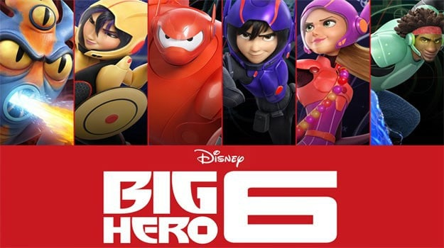 Disney Big Hero 6 movie on Freeform Nights of Halloween 1