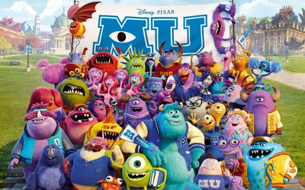 Disney Pixar's Monsters University movie on Freeform Nights of Halloween