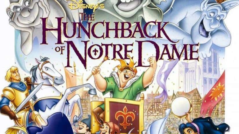 Disney the Hutchback of Notre Dame movie on Freeform Nights of Halloween