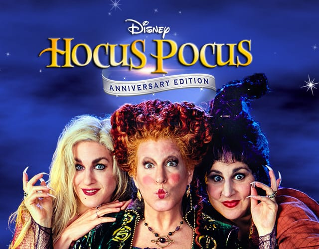 Hocus Pocus movie on Freeform Nights of Halloween