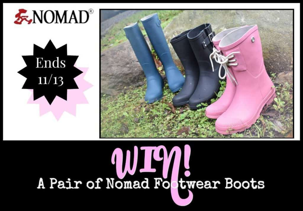 My Four and More's Nomad Footwear Boots Giveaway