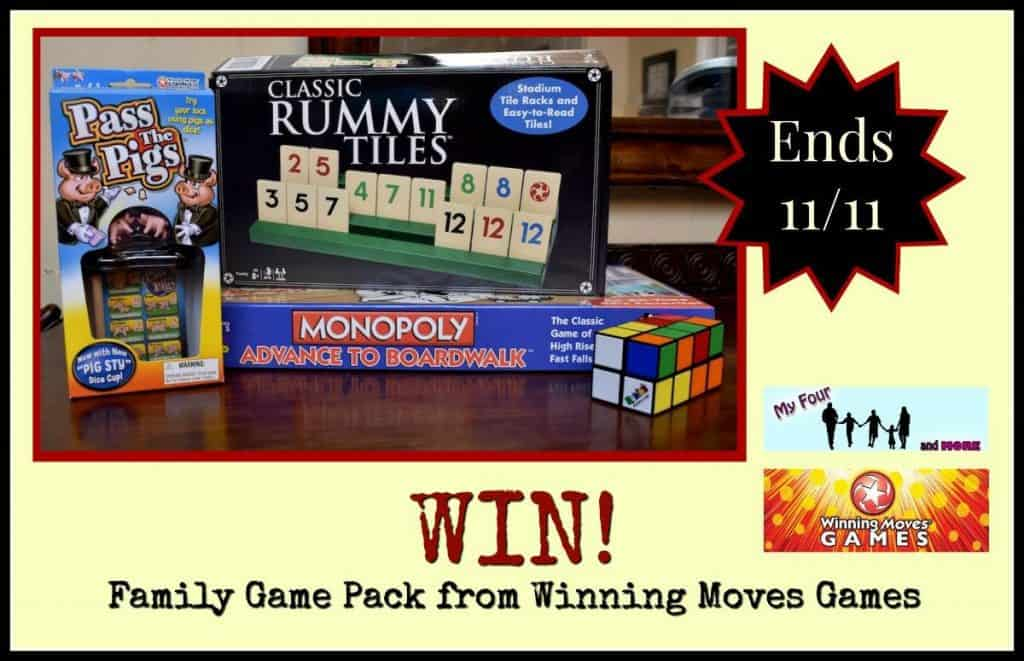 My Four and More's Winning Moves Game Pack Giveaway