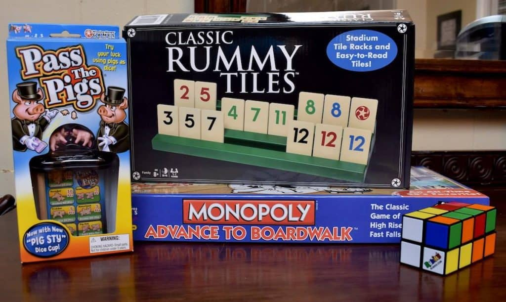 My Four and More's Winning Moves Game Pack Family Game Night