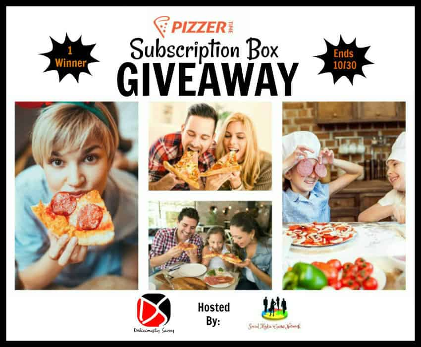 Pizza Pizzer Time Subscription Box