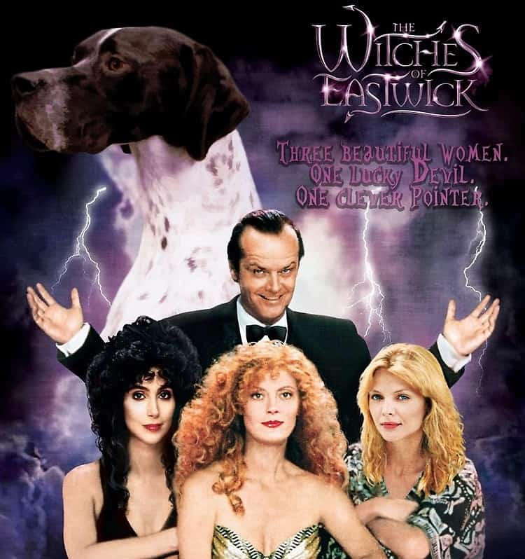 The Witches of Eastwick movie on Freeform Nights of Halloween
