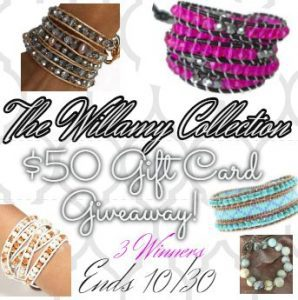 Willamy Collection celeb coveted handcrafted leather wrap bracelets with quality beads and crystals