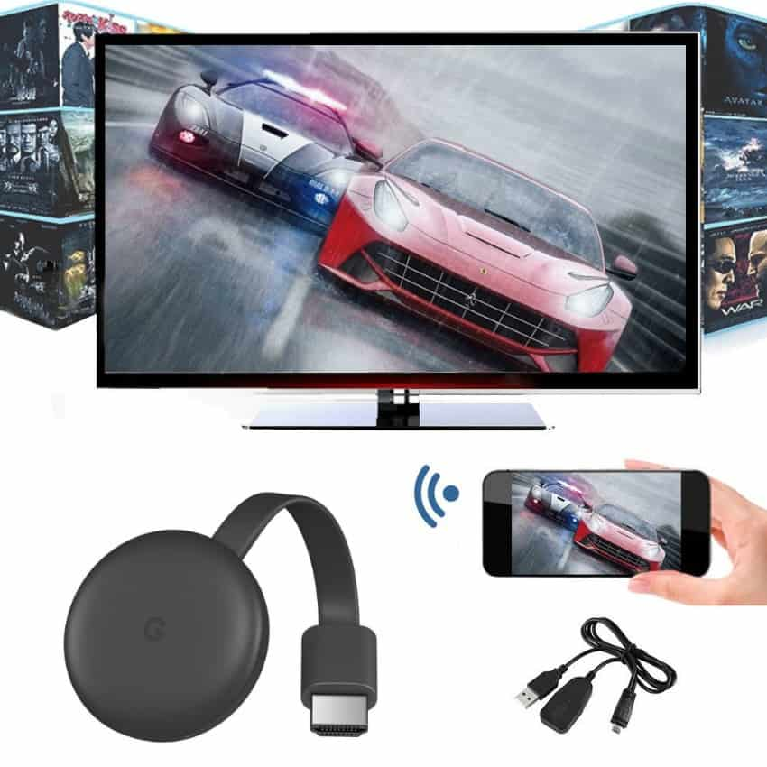 Google Chromecast 3rd Generation Streaming Media Player play games on TV