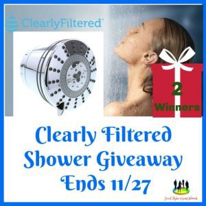 Clearly Filtered Fixed Filtered Shower Head