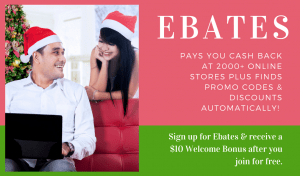 Ebates Rebate Shopping Discounts and Sales Cash Back