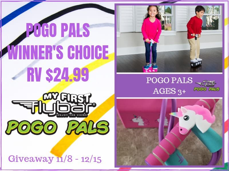 Flybar My First Foam Pogo Jumper for Kids Fun and Safe Pogo Stick for Toddlers, Durable Foam and Bungee Jumper for Ages 3 and up, Supports up to 250lbs