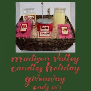 Madison Valley Candles Supreme Soy Candle Gift Basket