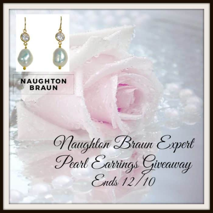 Naughton Braun Expert Rudas White Pearl Earrings