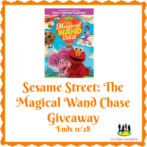 Sesame Street: The Magical Wand Chase DVD