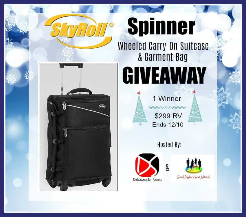 Wheeled Carry-On Suitcase & Garment Bag in One