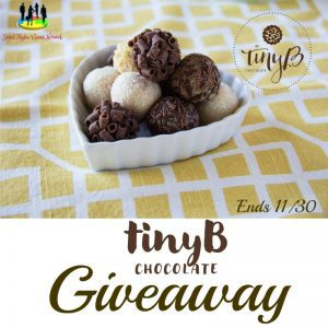 tinyB Chocolate Gluten-Free and Organic Brigadeiros