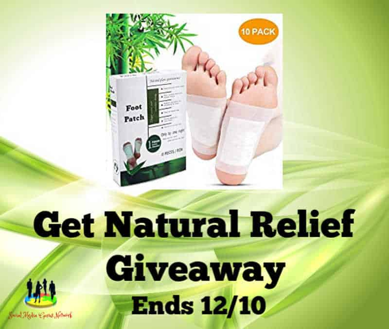 Care Me Aroma Green Tea and Lavender Foot Patches